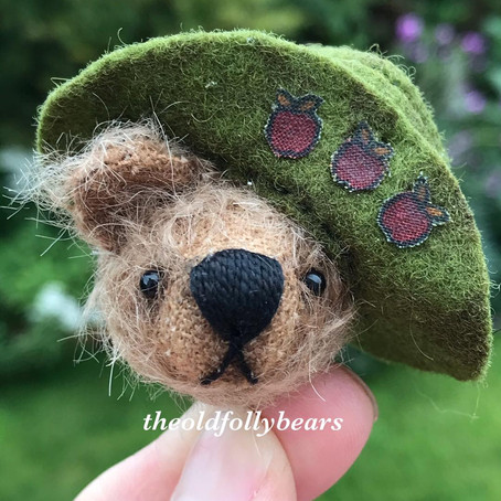 New commission bears hat & matching dress