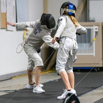 nationally competitive fencers