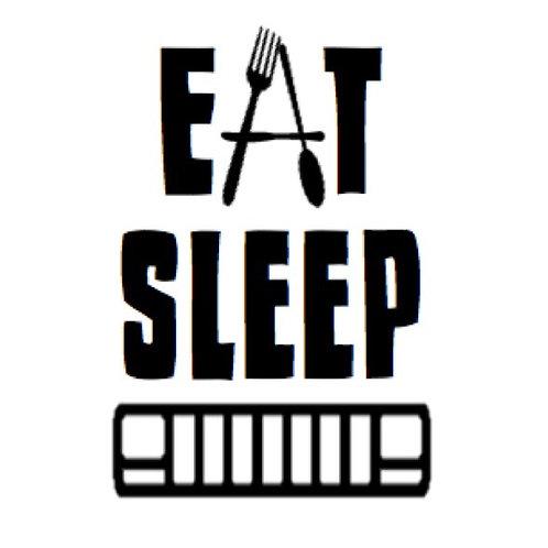 Eat. Sleep. Jeep.