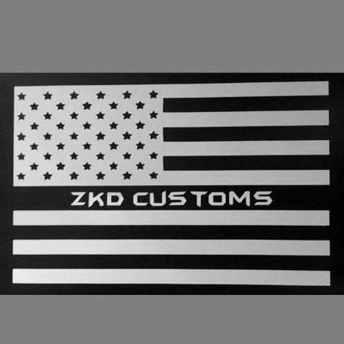 ZKD Flag Sticker