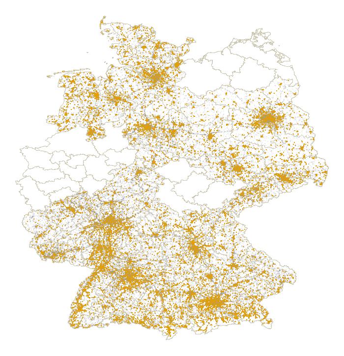 Die Grafik vereint die Informationen über die Fahrrad-Beteiligung, den Unfallort und die Landkreis-Informationen