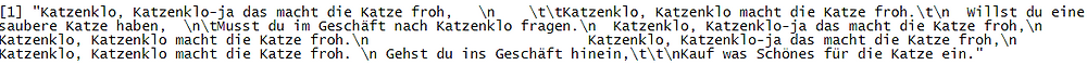 Ersetzen des Whitespace an Text-Ende und -Anfang mittels str_replace