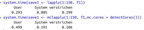 Vergleich der Laufzeiten mit und ohne Parallelisierung