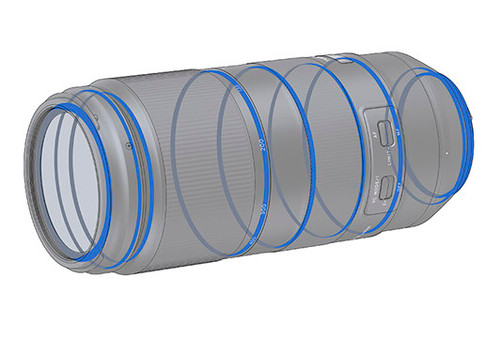 防水滴鏡筒設計 Tamron A035鏡頭除體積輕便,方便在戶外環境使用,還同時提供防水滴設計,讓自然生態攝影師在不同環境下使用鏡頭均有更好的保護