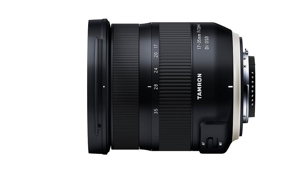 Tamron 17-35mm F2.8-4 Di OSD (A037)輕巧全片幅超廣角變焦鏡