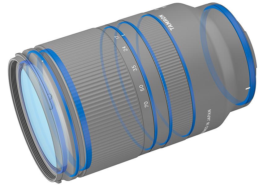 防水滴密封鏡筒設計增強鏡頭耐用程度