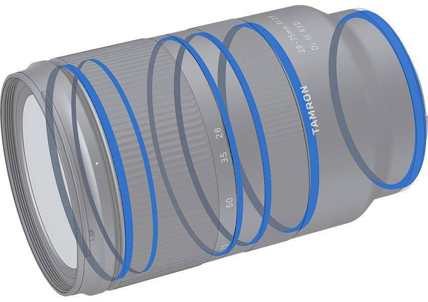 防水滴鏡筒設計,為不同環境提供穩定的拍攝及使用效果