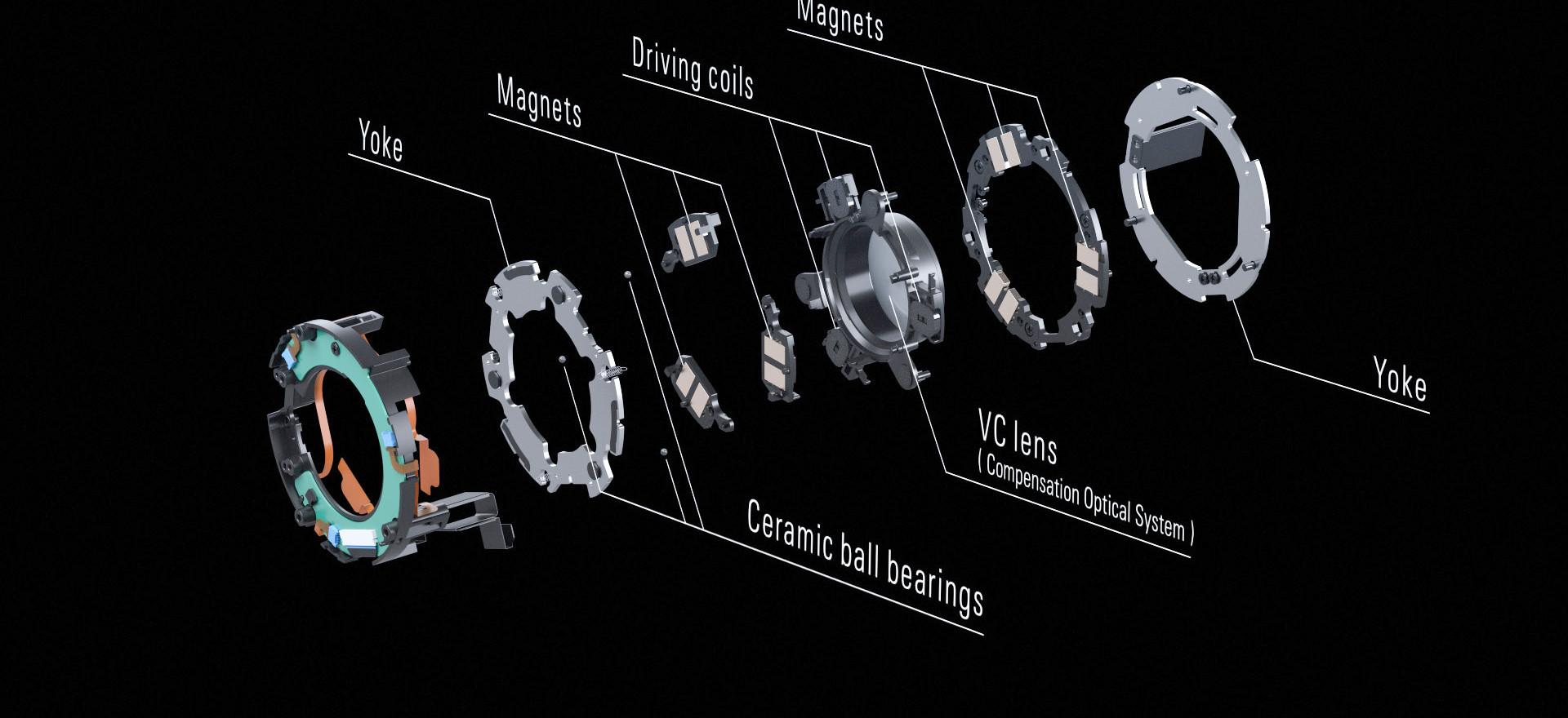 全新VC防震系統 同時適合相片及影片拍攝