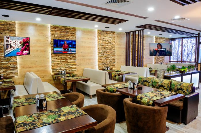 Señalización digital en restaurantes y centros de entretenimiento