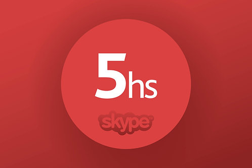 SKYPE COURSE  - PACKET: 5 HOURS