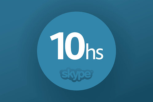 SKYPE COURSE  - PACKET: 10 HOURS