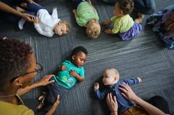 babies on the floor
