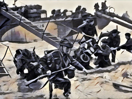 Down on the Beach: 77 years ago today
