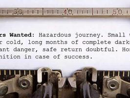 Writers Wanted: Hazardous Journey