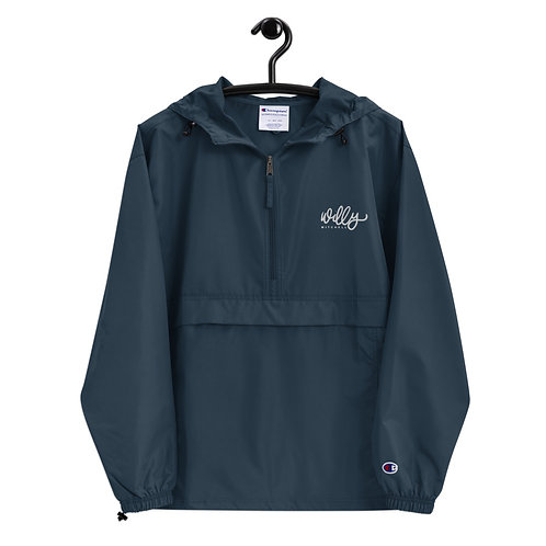 Willy Mitchell | Embroidered Champion Packable Jacket