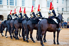 in london england horse and cavalry for