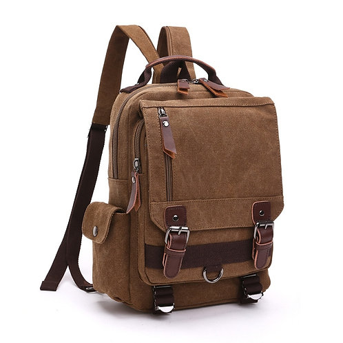 Multi-functional Canvas Travel Back Pack