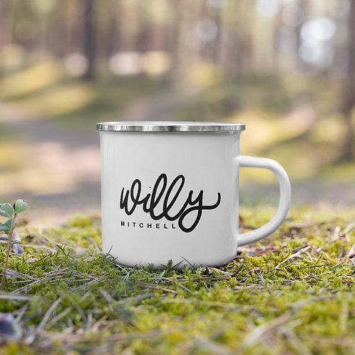 Willy Mitchell | Enamel Mug