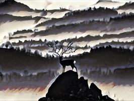 New Years Day 2021: The Lone Stag