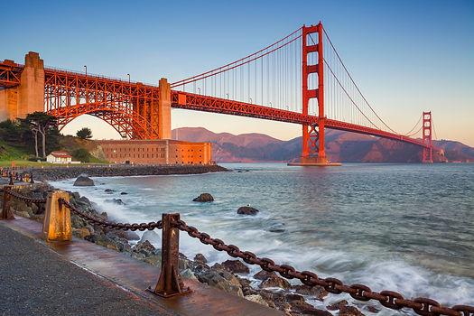 San Francisco .Image of Golden Gate Brid