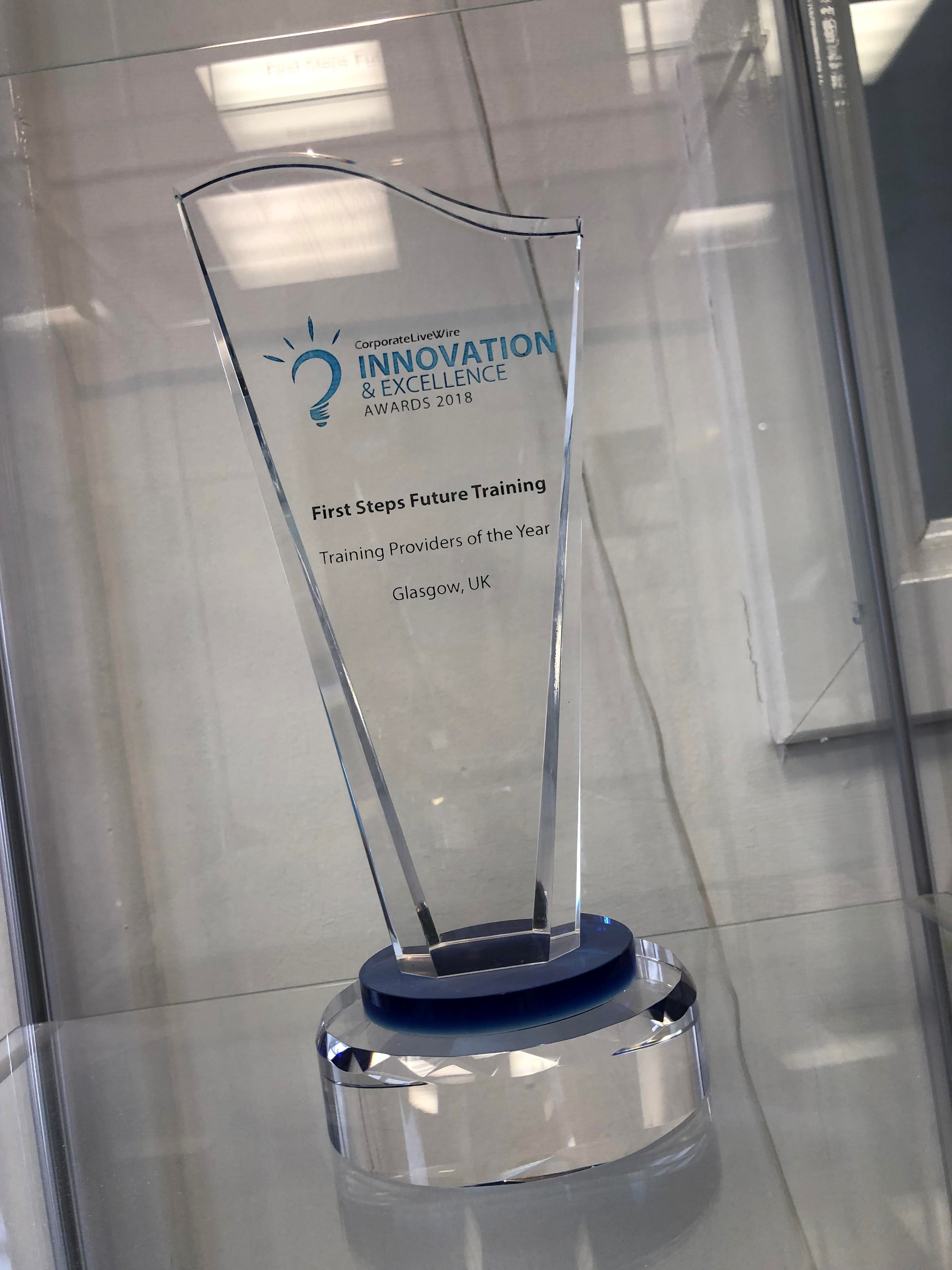Innovation & Excellence Award 2018