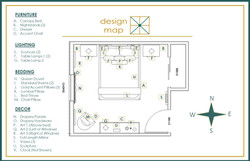 Modern Master Bedroom Floor Plan