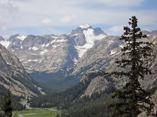 Gannett Peak in the Background
