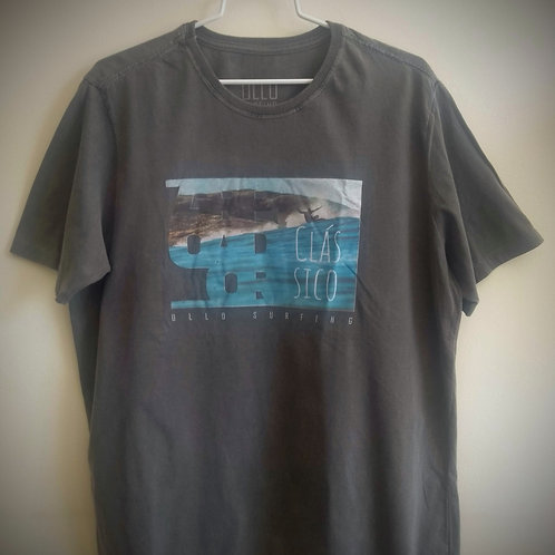Camiseta Chumbo Estonada Arpoador Clássico