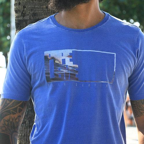 Camiseta Azul Estonada Pipeleme