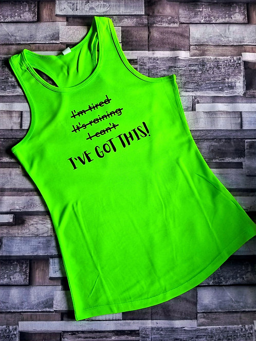 I've got this! - Women's Cool Racerback Vest