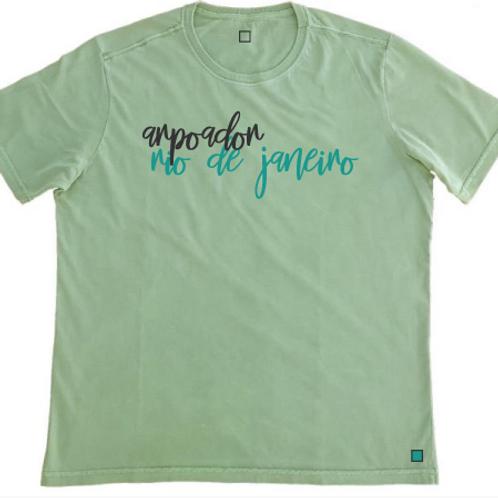 Camiseta Arpoador Verde