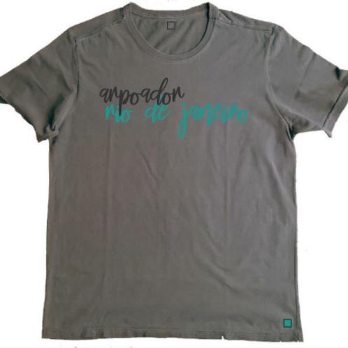 Camiseta Arpoador Chumbo