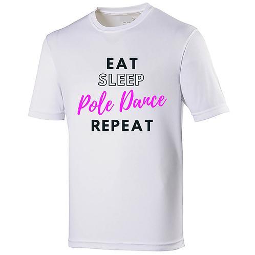 Eat, Sleep, Pole Dance, Repeat - Women's Cool T