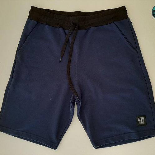 Bermuda Moletom Azul