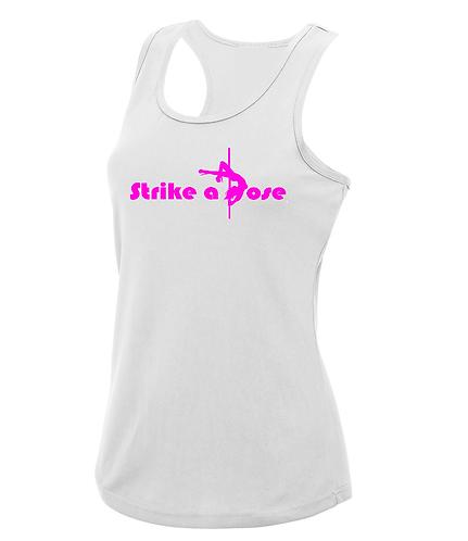 Strike a Pose - Women's Cool Racerback Vest