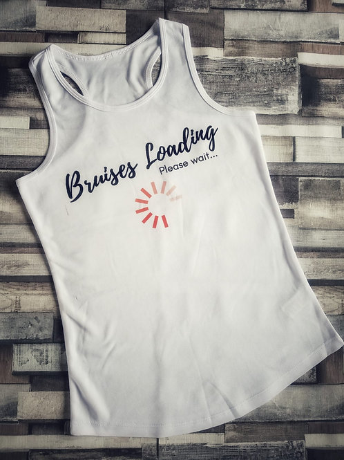 Bruises Loading - Women's Cool Racerback Vest