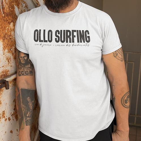 Camiseta Branca Ollo Surfing