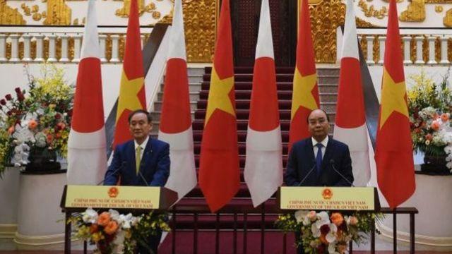 Nhật Bản và Việt Nam hôm thứ Hai đã đồng ý sẽ củng cố quan hệ an ninh và kinh tế