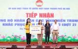 Mặt trận Tổ quốc TP Hà Nội tiếp nhận hơn 14,2 tỷ đồng ủng hộ Nhân dân các tỉnh miền Trung