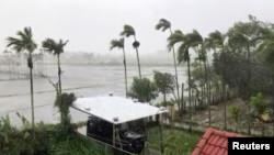 Bão Molave (bão số 9 ) tại Hội An vào ngày 28/10/2020.
