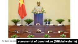 Quốc hội Việt Nam bàn về chống tham nhũng hôm 26/10/2020