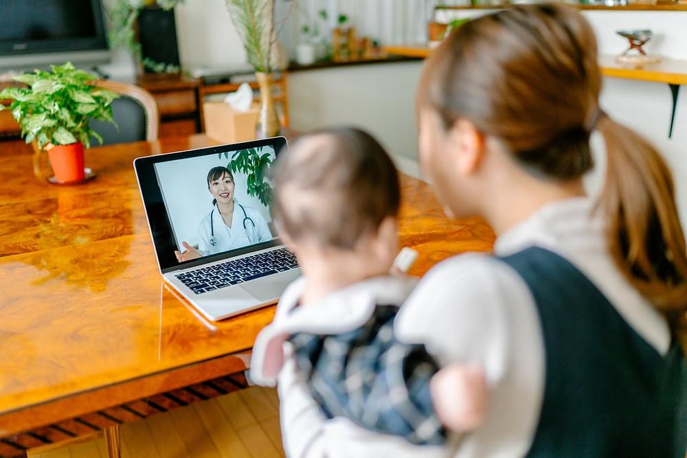 Chăm sóc sức khỏe từ xa là lĩnh vực hấp dẫn với cả startup và các tập đoàn lớn. Ảnh: iStock.