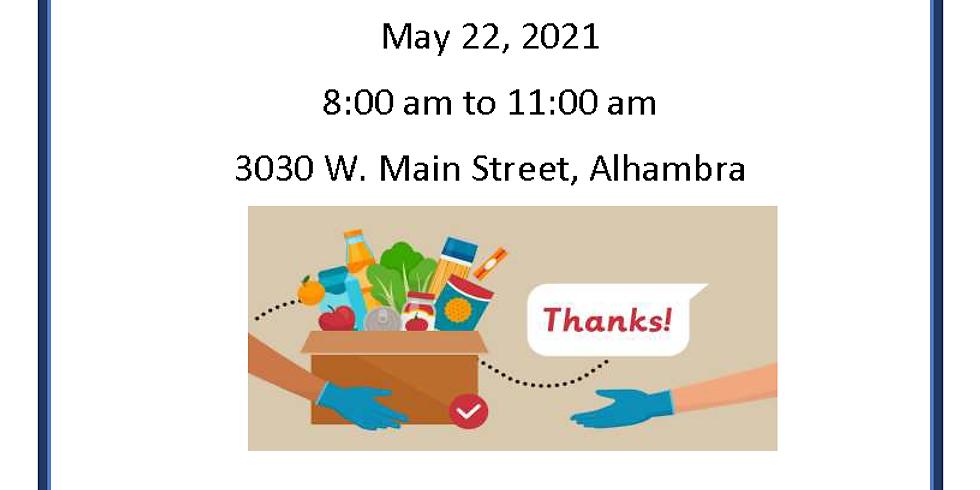 ATA Food Distribution Event