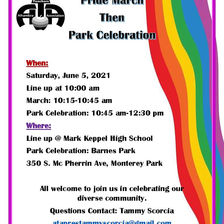 Pride March & Celebration