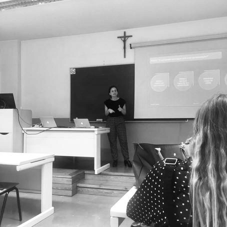 Aula na Universidade Católica Portuguesa