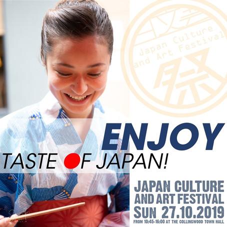 TASTE OF JAPAN!