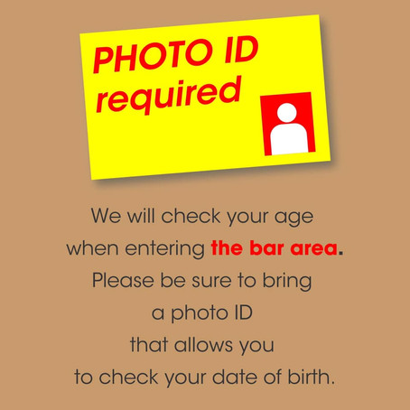 Please bring cash and photo ID for Sake area on that day!