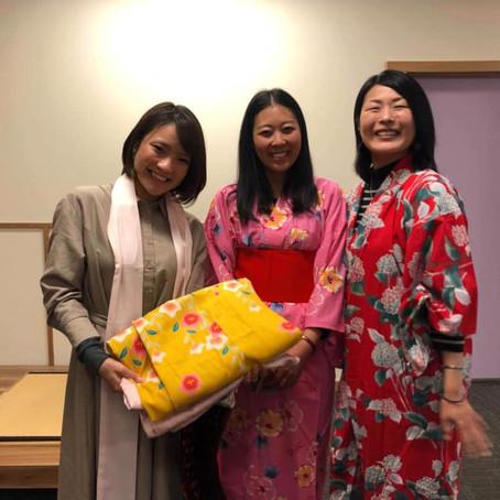 Workshop introduction #22: How to wear Yukata