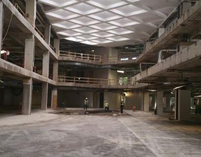 Complete Interior Demolition of 3 Story Building