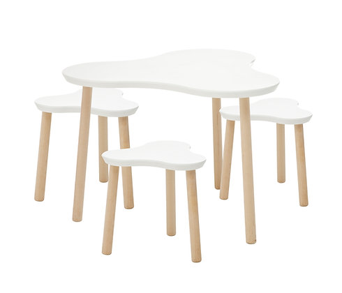 Lifetime Clover Table et Tabouret